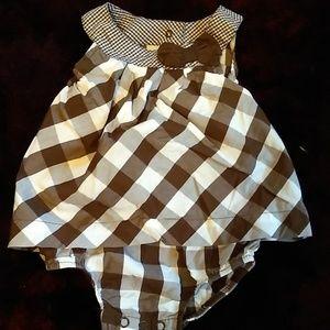 Carter's Checkered Onesie